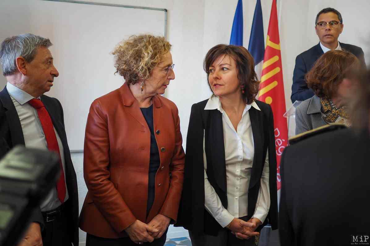 Muriel Penicaud et Carole Delga signent le Pacte régional d'investissement dans les competences - Ecole de la 2eme chance-3