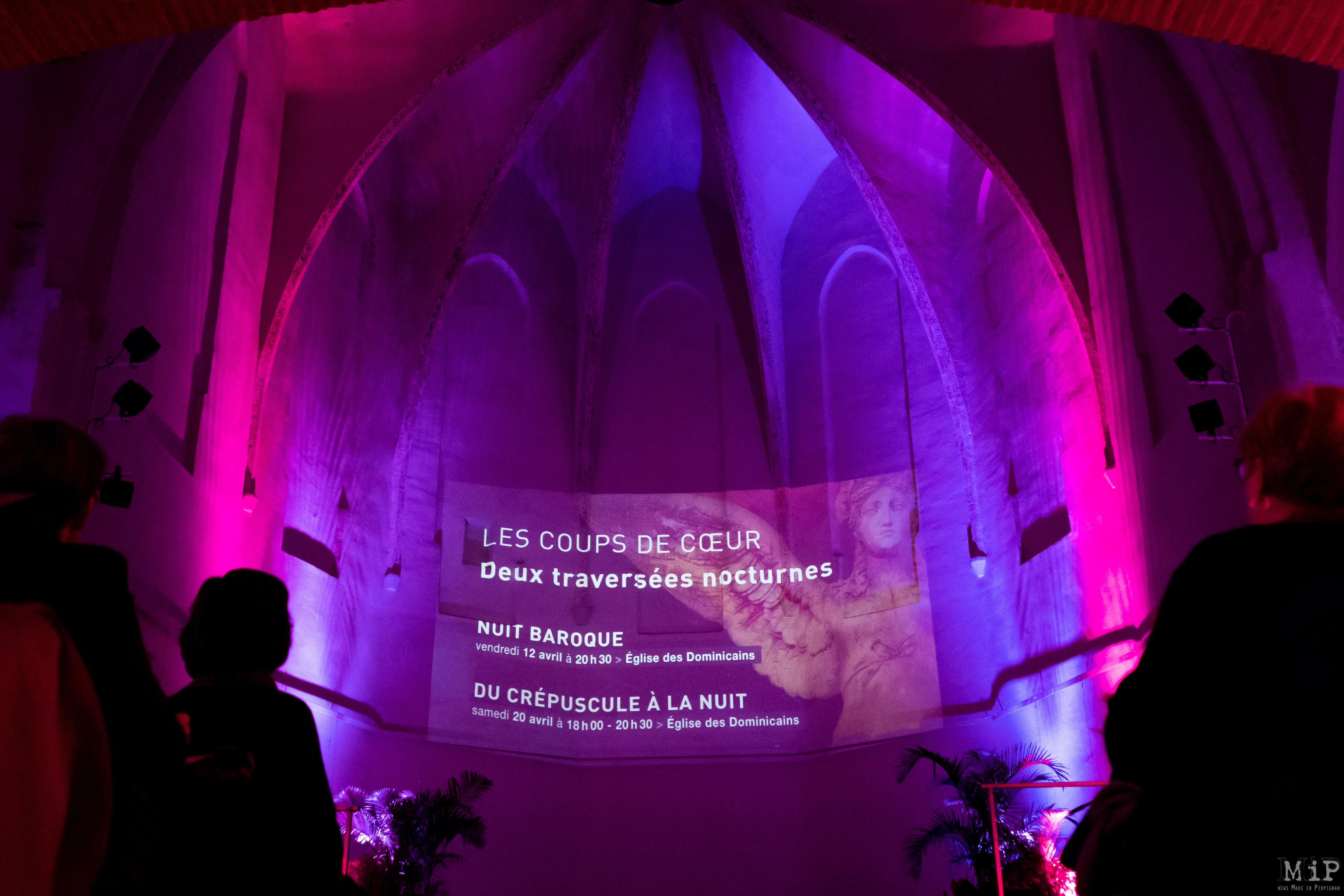 Musique sacrée présentation Couvent Minimes Perpignan mars 2019