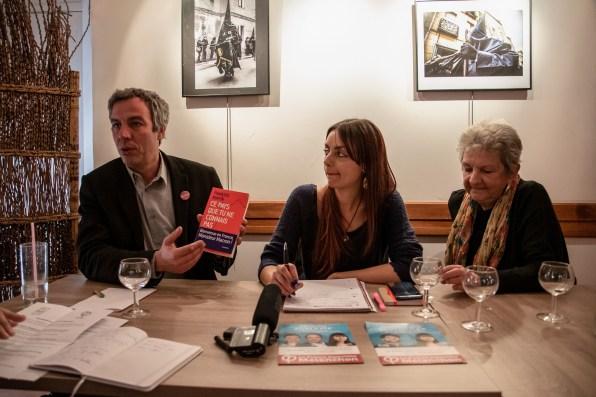 La fête en commun France Insoumise Assens Muriot Perpignan Avril 2019