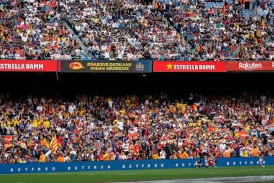 Dragons Catalans Perpignan vs Wigan Warriors Camp Nou Mai 2019-2