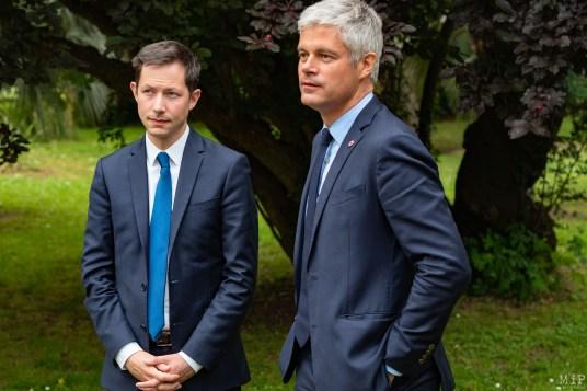 François-Xavier Bellamy et Laurent Wauquiez à Saint-Cyprien - Dernier meeting de la campagne des Européénnes-10
