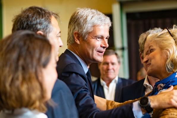 François-Xavier Bellamy et Laurent Wauquiez à Saint-Cyprien - Dernier meeting de la campagne des Européénnes-15