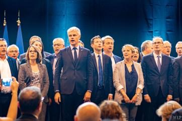Dernier meeting des Républicains avant le scrutin des Européennes