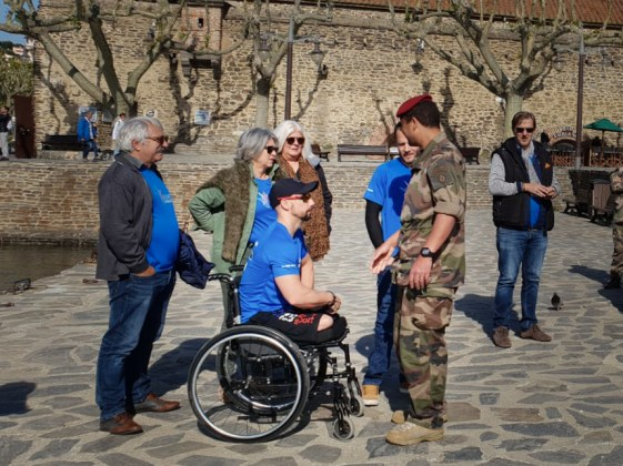 Invictus Games - Credit photo Héléne pour l'hotel Les Flamands Roses de Canet