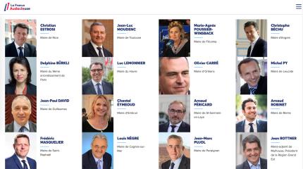 Elus membres de la France Audacieuse