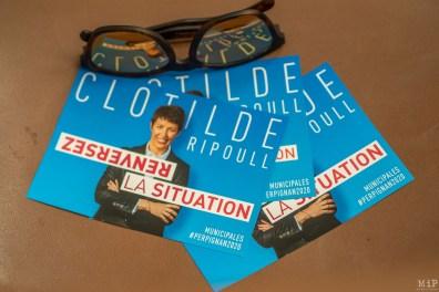 Clotilde Ripoull - 1er meeting pour les elections municipales de 2020