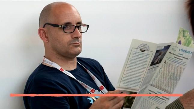 Arnaud Le Vu, rédacteur et photographe de MIP en pleine réflexion. Credit photo © FIL