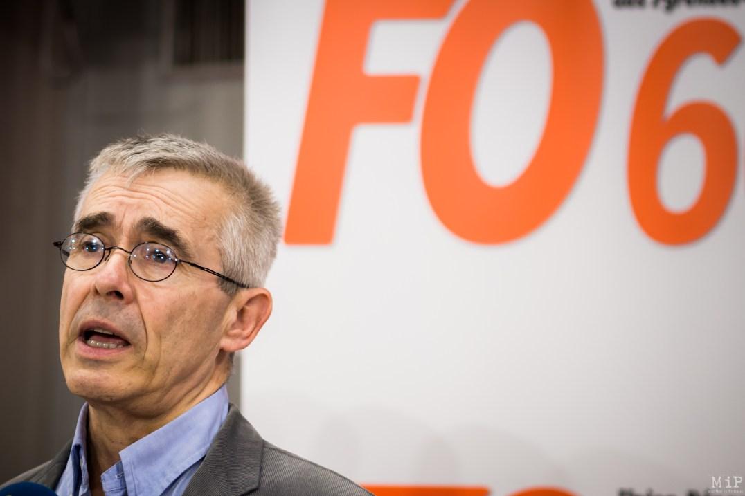 Force Ouvrière FO 66 Congrès Yves Veyrier Pollestres