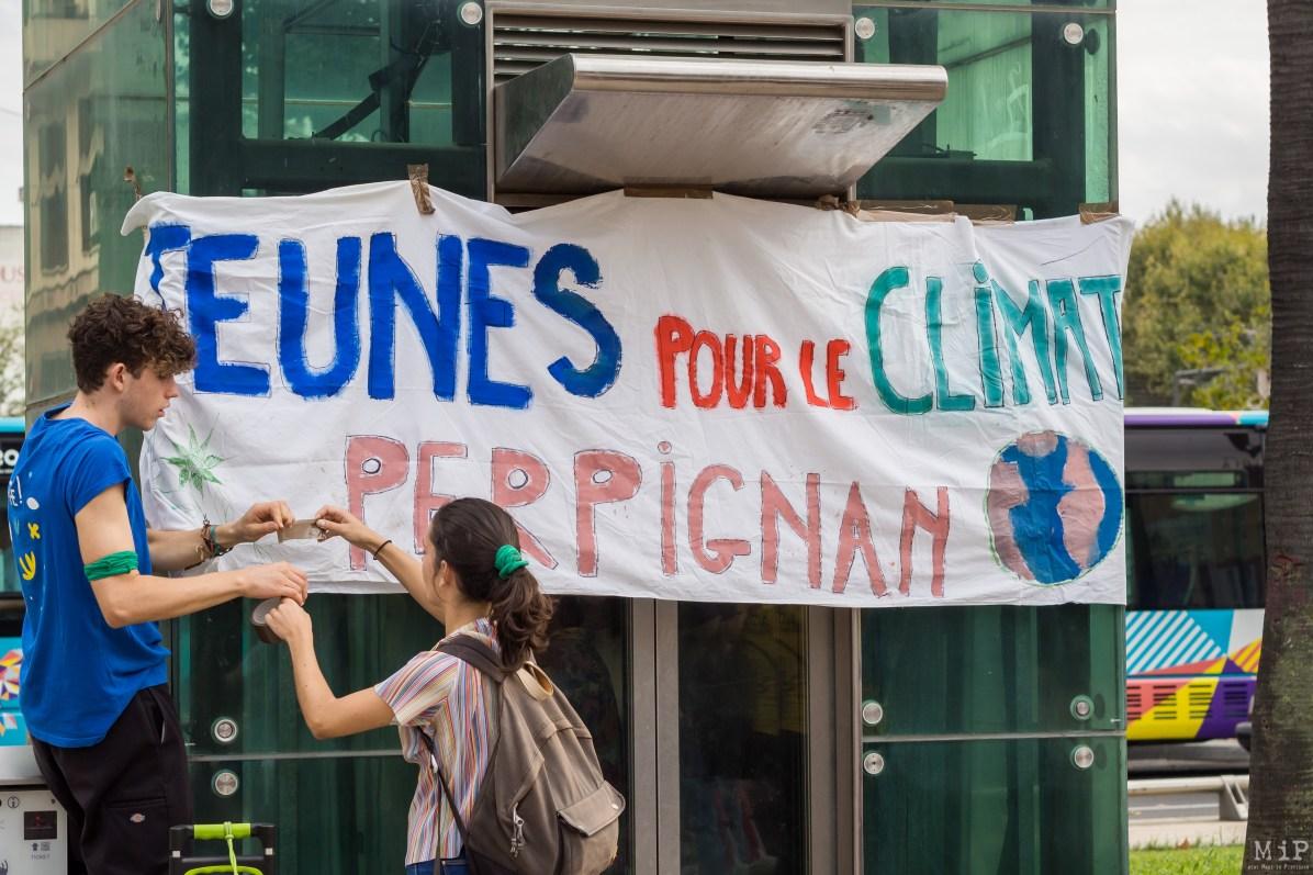 Grève des jeunes pour le Climat Perpignan septembre 2019