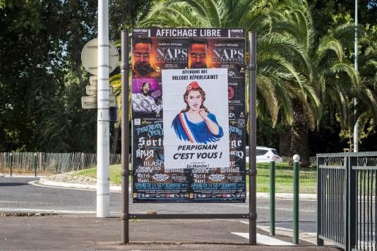 Affiche LREM municipales 2020