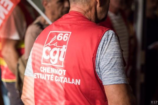 Train des primeurs Perpignan Rungis CGT Stéphane Derlincourt Frêt SNCF Combiné et Express grève 5 décembre manifestation