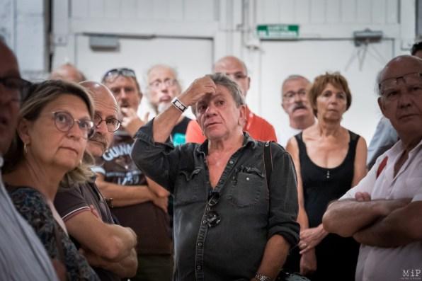 Visa pour l'Image 31e edition 2019 Septembre Perpignan Visite Patrick Chauvel 50 ans sur le front