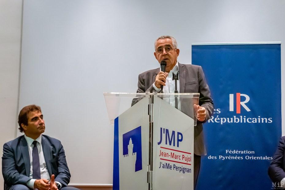 Election du président parti Les Républicains Perpignan Guillmaume Larrivé Octobre 2019