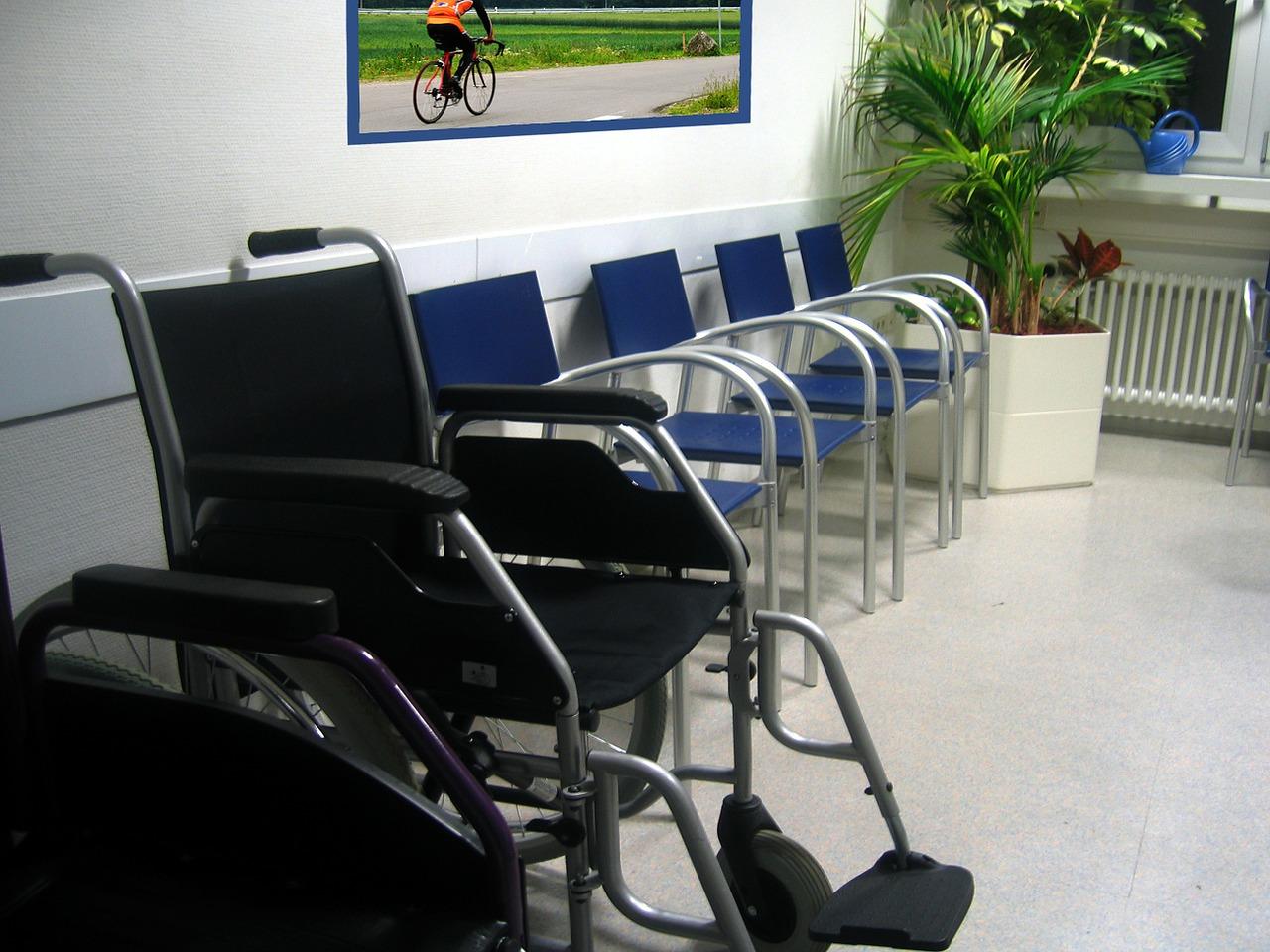 Salle d'attente médecin