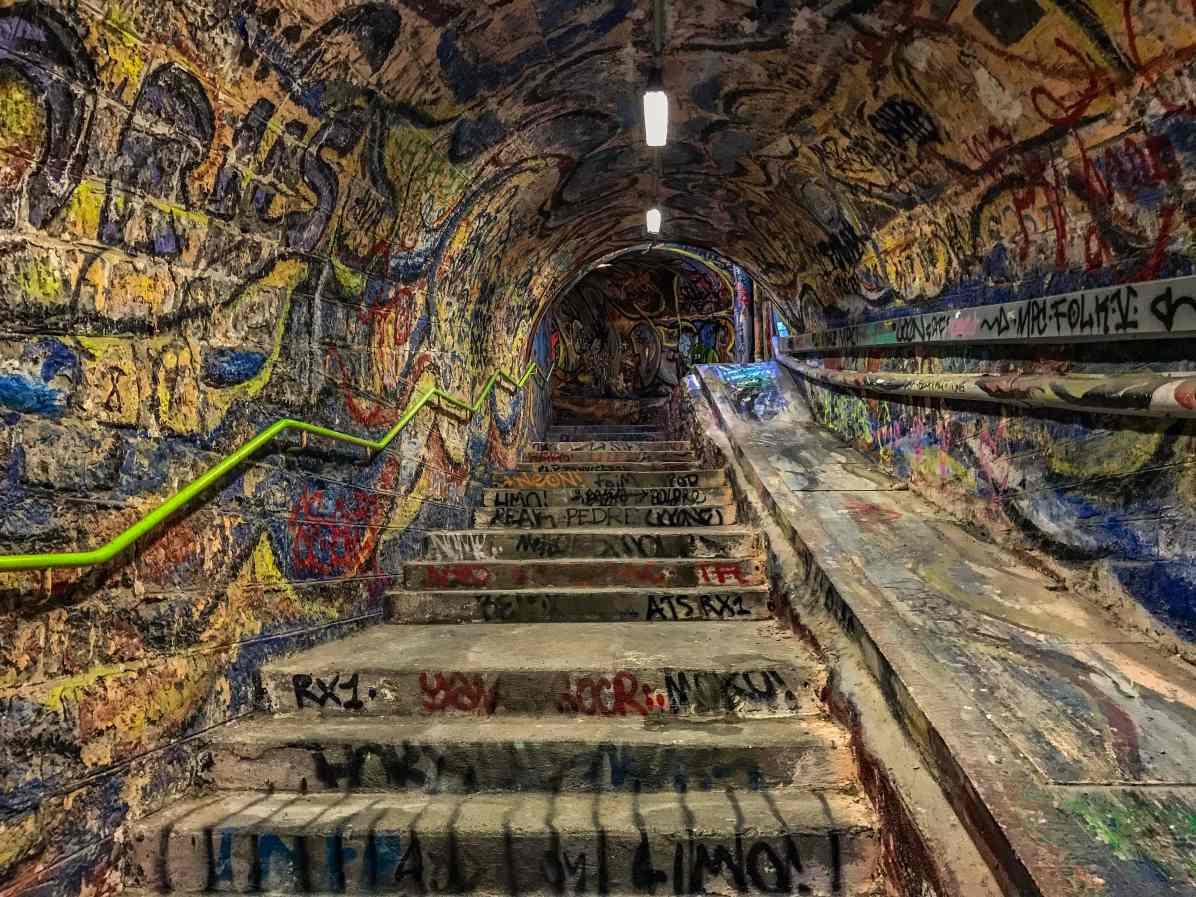 Le Tunnel street-art de Cerbère