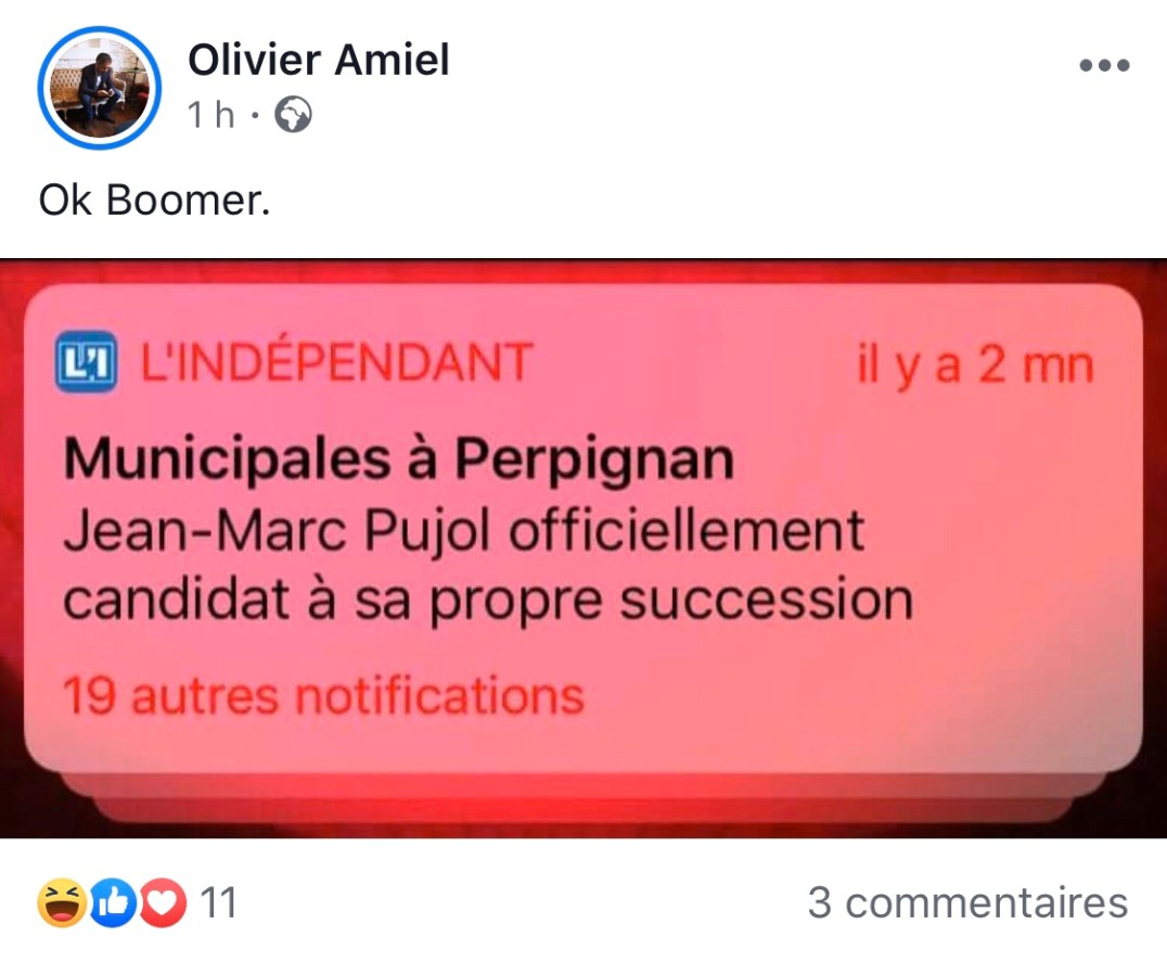 Amiel Ok Boomer