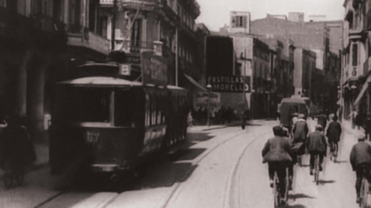 Barcelona en tranvia Filmoteca de Catalunya