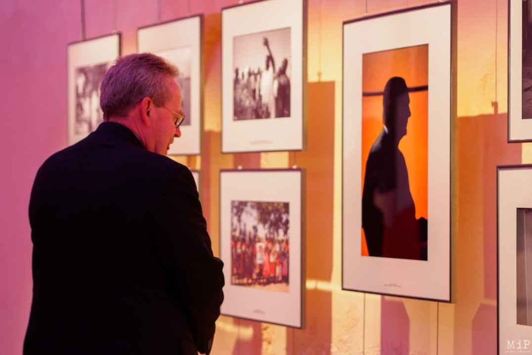 Renaud Donnedieu de Vabres lors de l'exposition Jaques Chirac photographié par Eric Lefeubvre - Centre International de Photojournalisme-2
