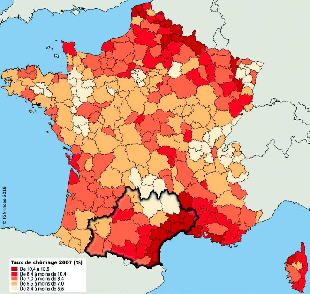 Insee Analyses taux de chômage 2007