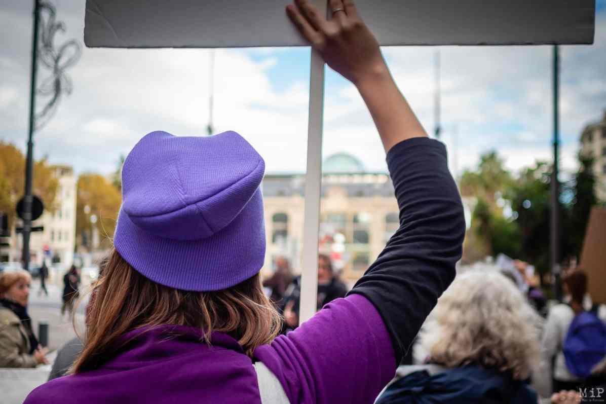 Marche NousToutes violences conjugales et faites aux femmes féminicide