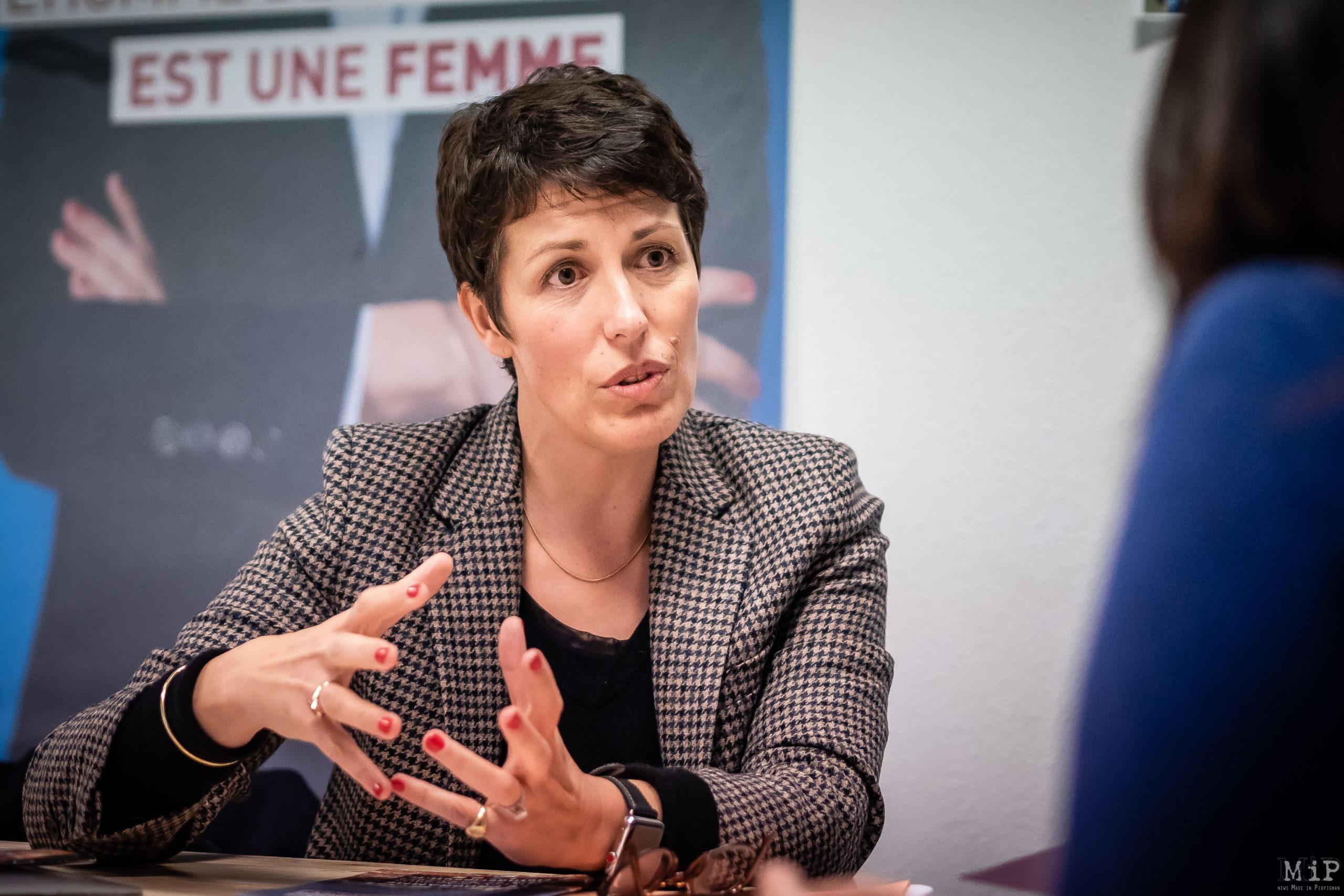 Clotilde Ripoull interview 2020 campagne municipales Perpignan