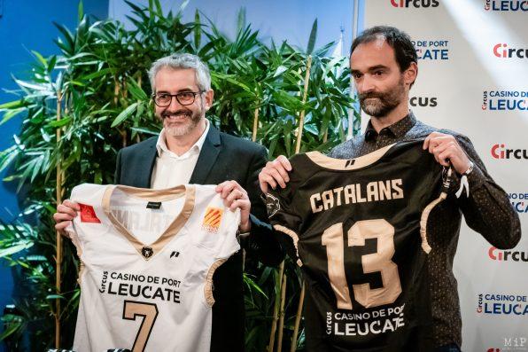 Grizzlys Catalans lancement de saison 2020 football américain