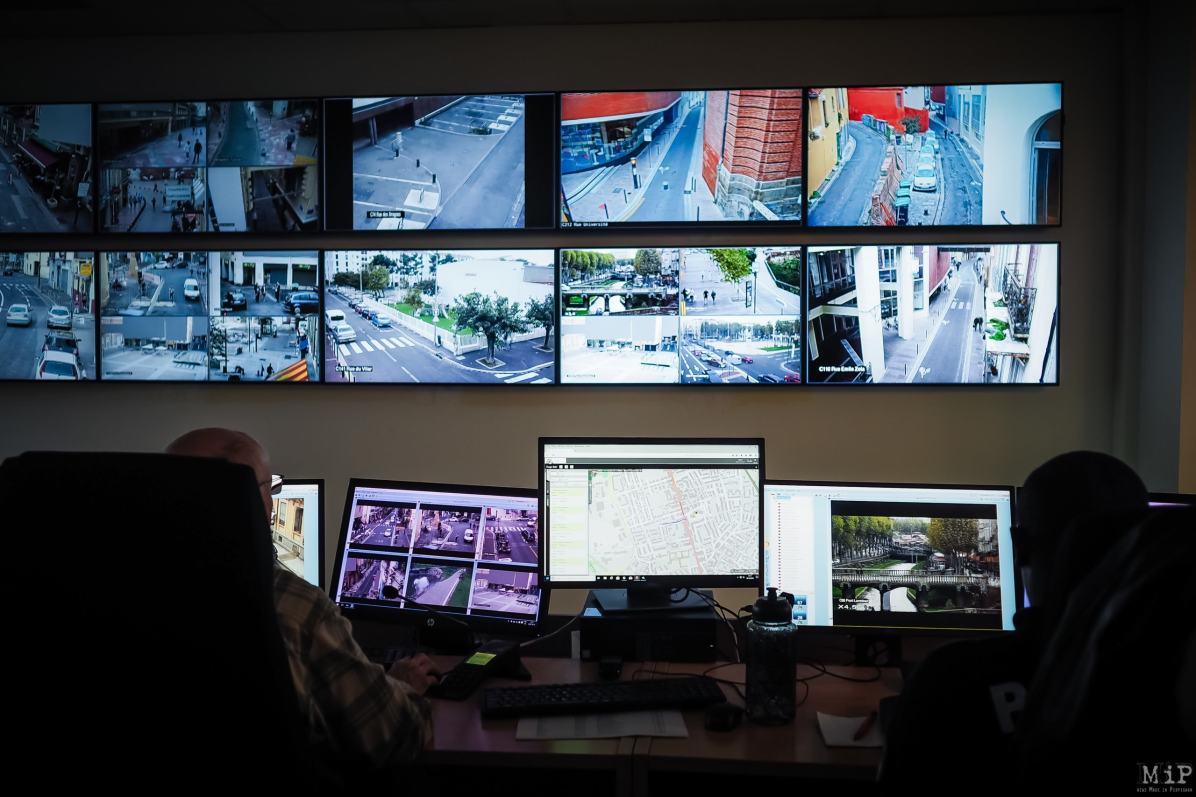 Sécurité police municipale Perpignan vidéo vidéosurveillance