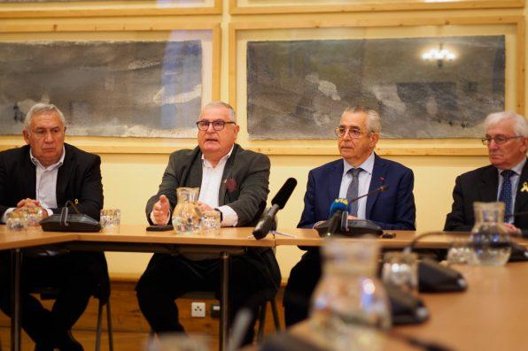 Jean-Marc Pujol et des maires de Pyrénées-Orientales soutiennent Quim Torra