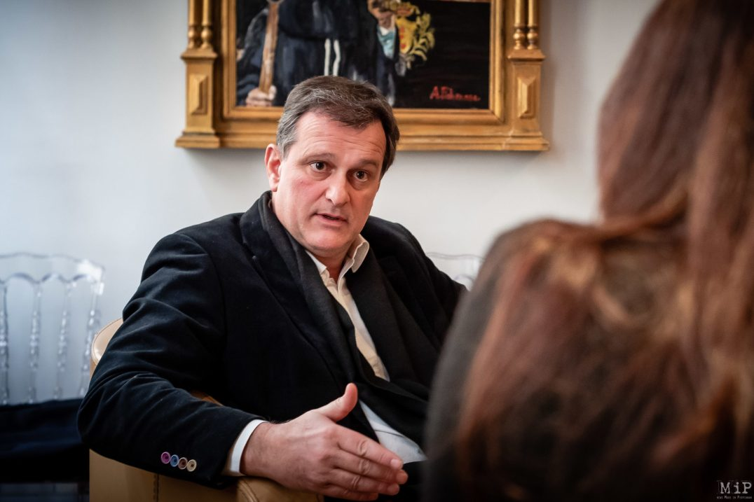 Louis Aliot interview 2020 campagne municipales Perpignan