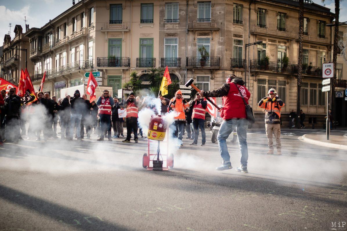 Manifestation grève Retraites 14 janvier syndicats réforme