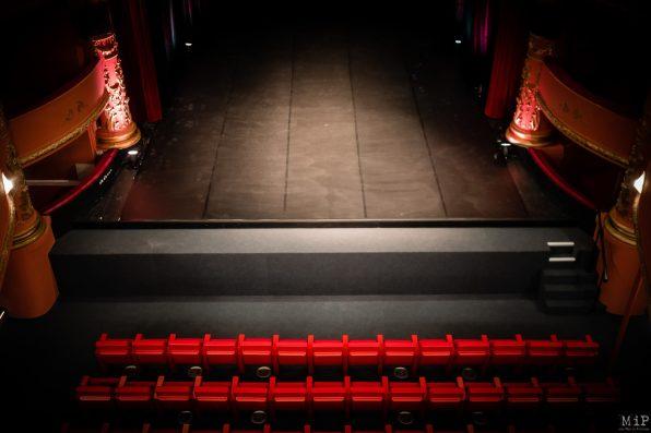 Théâtre Municipal Perpignan rénovation voeux Jean-Marc Pujol à la presse