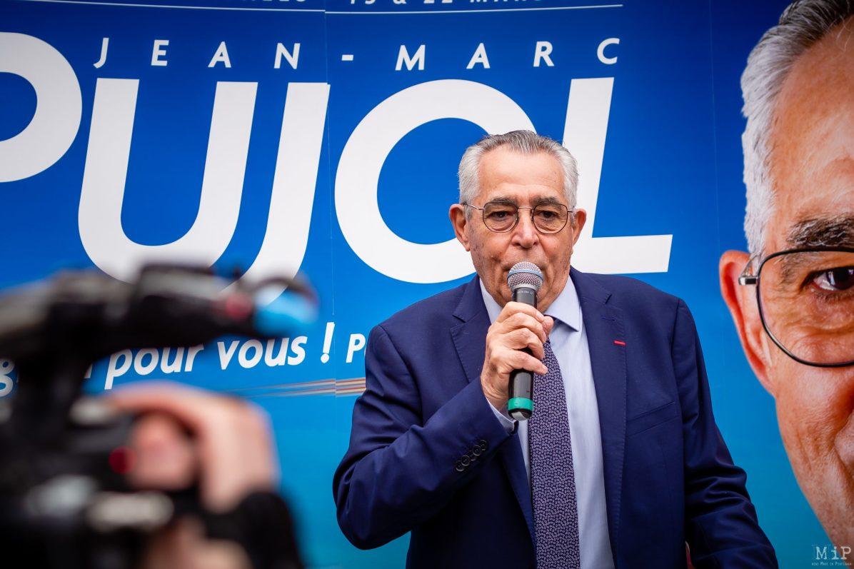 Jean-Marc Pujol mairie Perpignan municipales 2020 inauguration