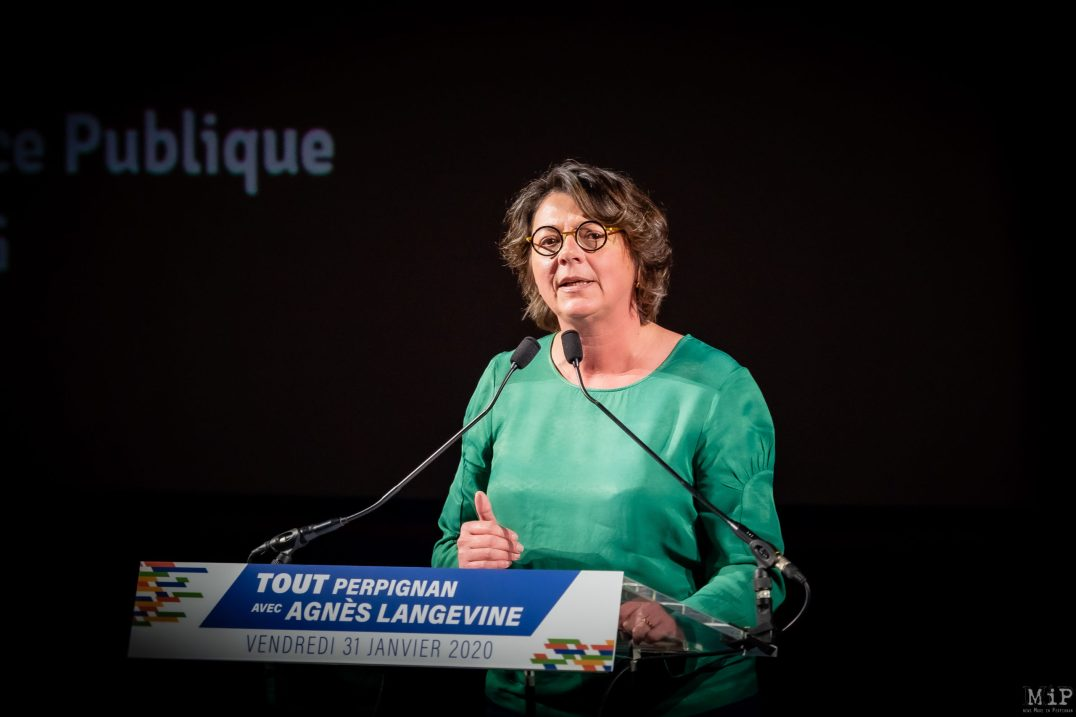 Meeting Agnès Langevine Méga Castillet Perpignan