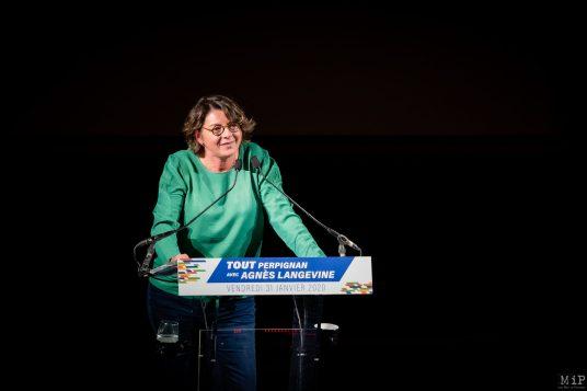 31/01/2020 Meeting Agnès Langevine Méga Castillet Perpignan