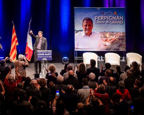 Meeting Louis Aliot Thierry Mariani Perpignan municipales-05-2020-01-31-19-22
