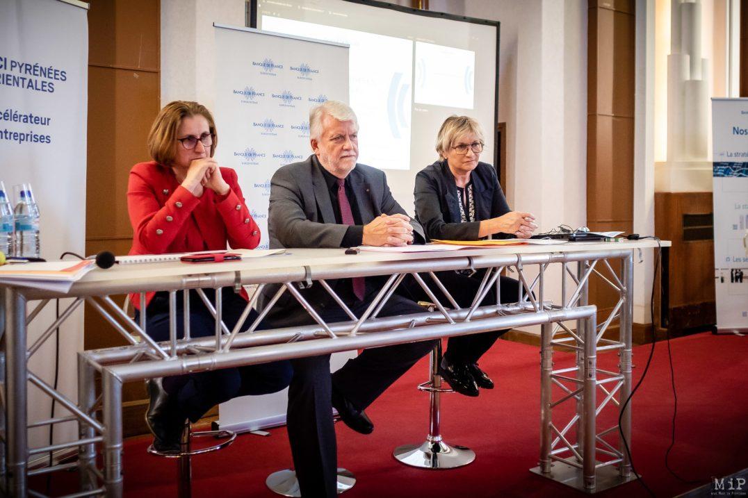 Présentations chiffres économiques 2019 Pyrénées-Orientales CCi Conseil Départemental Banque de France