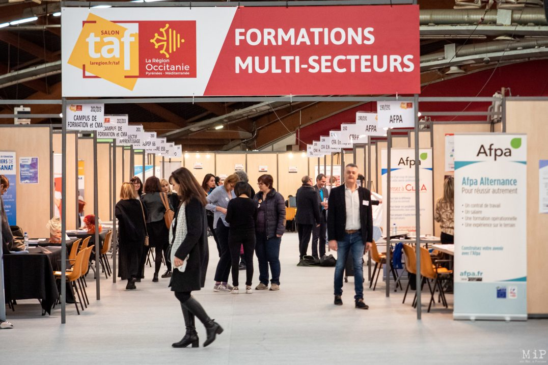 Illustration Salon de l'emploi TAF Perpignan 2020