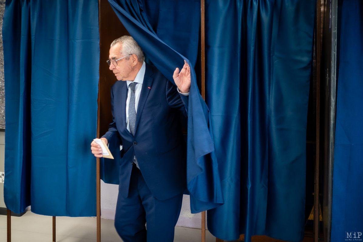 Jean-Marc Pujol Elections municipales 1er tour Perpignan