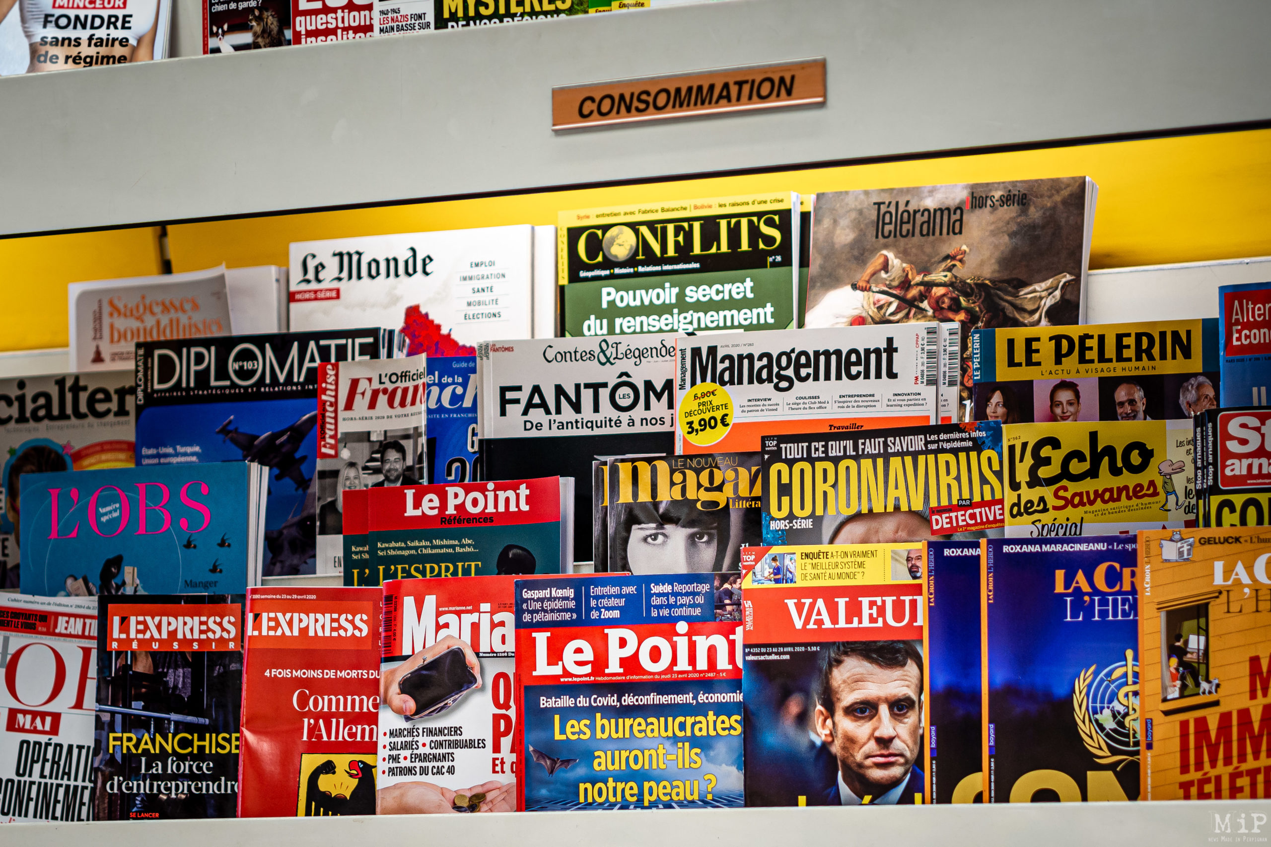 25/04/2020, Perpignan, France, Illustration Coronavirus Covid-19 vie quotidienne © Arnaud Le Vu / MiP / APM