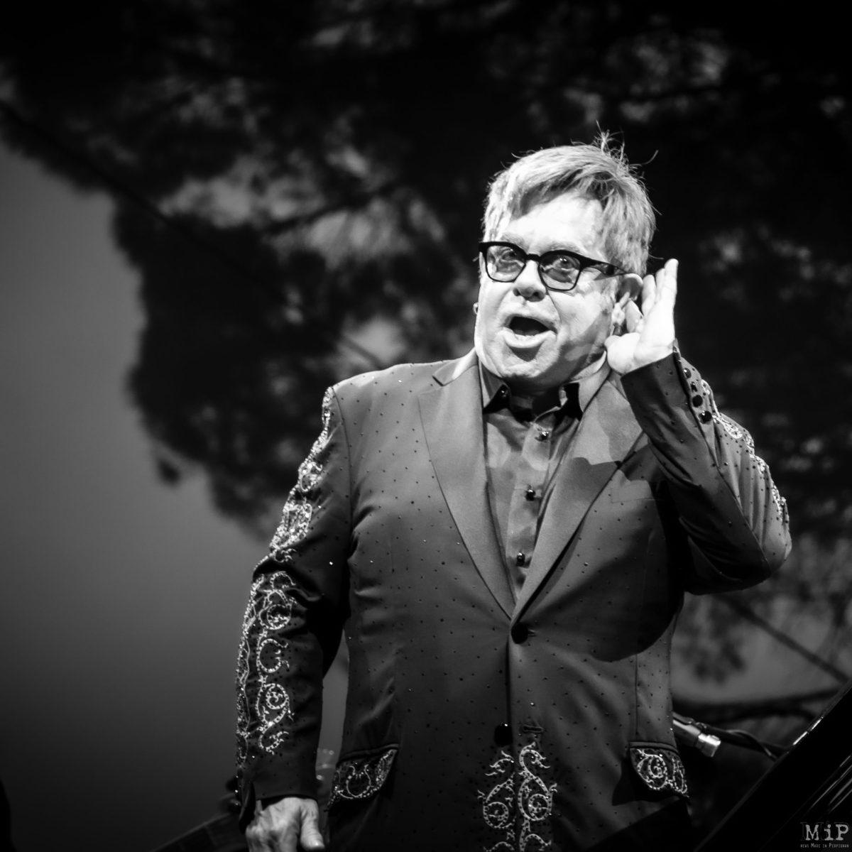 Argelès-sur-Mer, France, Elton John Festival les Déferlantes 2016 © Arnaud Le Vu / MiP / APM