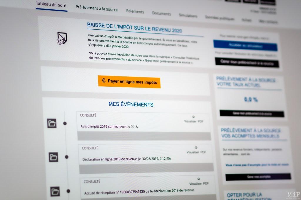 Campagne des impôts 2020 © Arnaud Le Vu / MiP