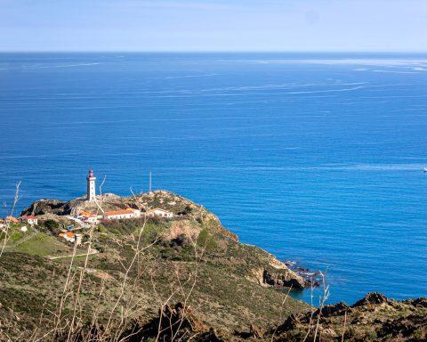 Illustration paysages bord de mer Pyrénées-Orientales