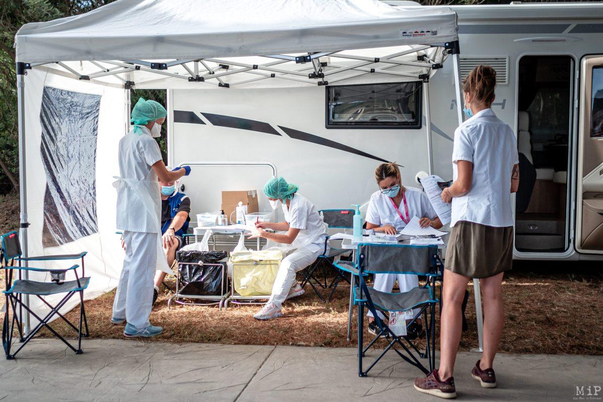 Paulilles, Covid-19, Coronavirus, Test itinerant littoral pcr par equipe medicale hopital de perpignan