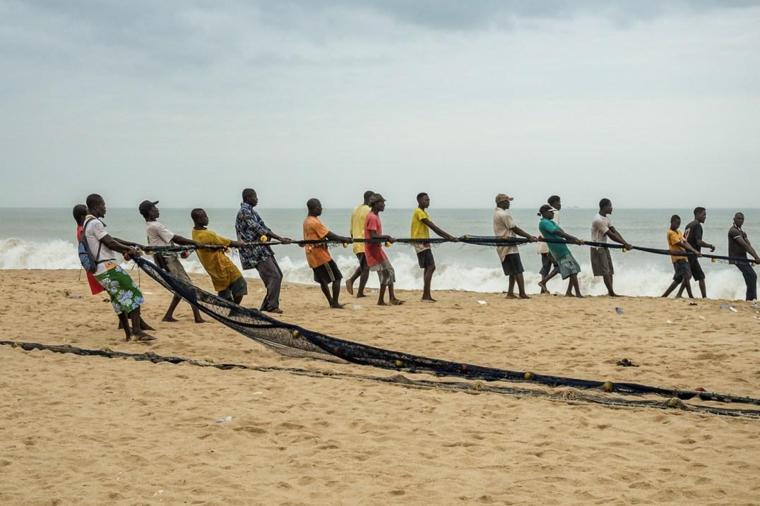 Cape Coast in Ghana, Oguaa in Fantis, the local language. © Paloma Laudet