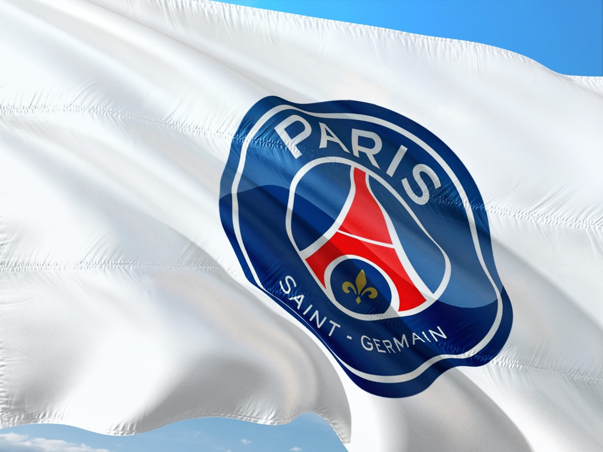 Drapeau du PSG - Paris Saint Germain