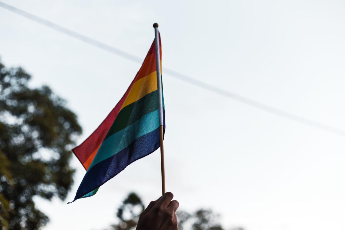 Transidentité LGBTQ Drapeau