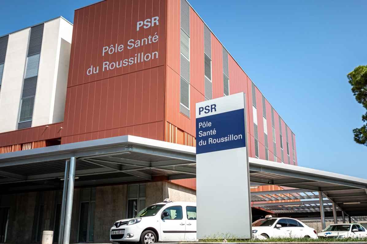 16/09/2020, Perpignan, France, Illustration hôpital © Arnaud Le Vu / MiP