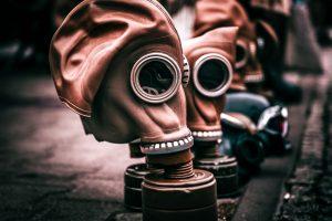 Photo Une anti-masques en France