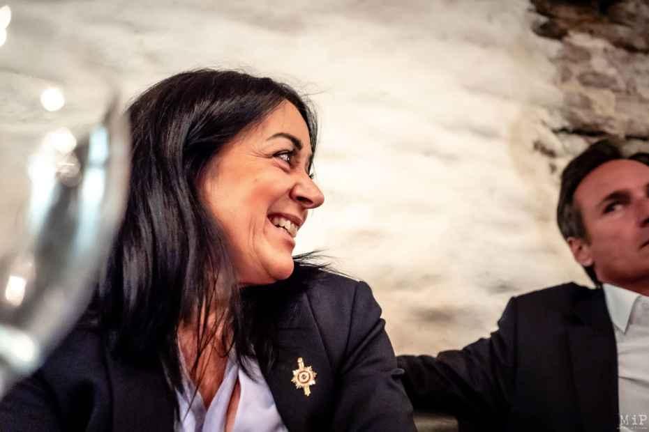 02/10/2020, Perpignan, France, Catherine Pujol députée Rassemblement National © Arnaud Le Vu / MiP