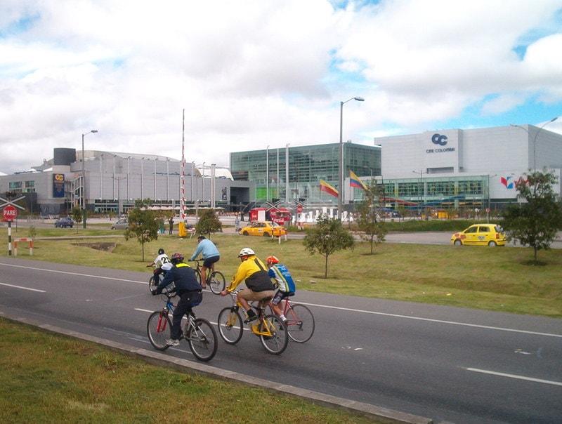 Centre commercial Gran Estacion dans l'ouest de Bogota © Wikipédia